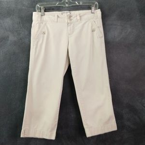 AMERICAN EAGLE OUTFITTERS   Capri Pants Size 2